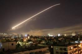 الدفاعات السورية تتصدى لأهداف معادية جنوب البلاد
