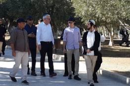 وزير زراعة الاحتلال يقتحم الأقصى برفقة مجموعة مستوطنين