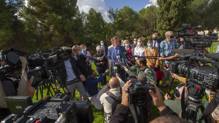 رؤساء بعثات الاتحاد الأوروبي يحتجون على توسعة مستوطنة