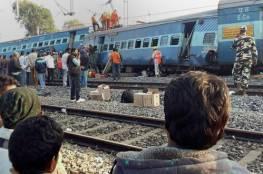 خمسون قتيلا على الأقل في حادث قطار في الهند