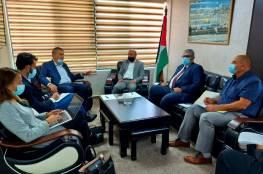 د. ابو هولي ولازاريني يتفقان على عقد اجتماع مع الدول المضيفة للإعداد الجيد لاستراتيجية الاونروا للأعوام 2022 – 2025