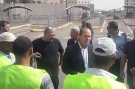 أهالي مخيم شعفاط غاضبون من مخطط