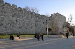 منصور: دعوات بهدم جزء من سور القدس يجب أن لا تمر بسلام