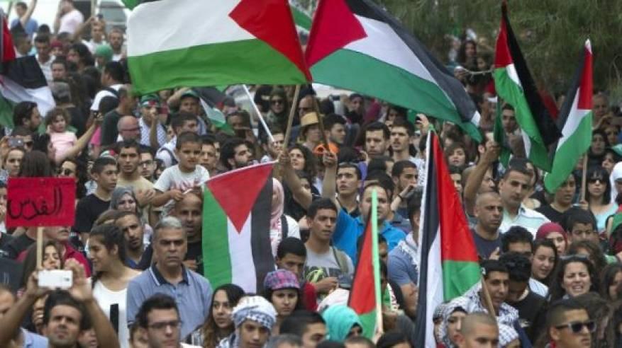 انطلاق فعاليات احتجاجية في الوطن والشتات رفضا للورشة الأميركية في المنامة