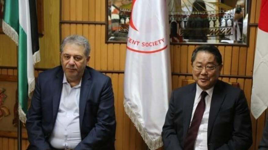 اليابان تدعم مستشفيي حيفا والهمشري في لبنان