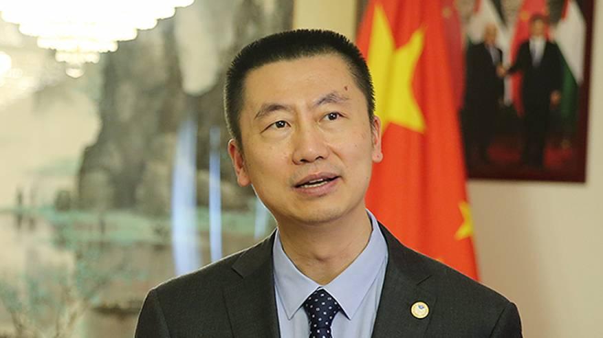 السفير قواه وي: مبادرة الصين تشكل خطة متكاملة وواقعية لتحقيق السلام العادل والشامل للقضية الفلسطينية