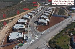 نابلس: تصاعد في عمليات الاستيطان وشق الطرق فوق أراضي جالود