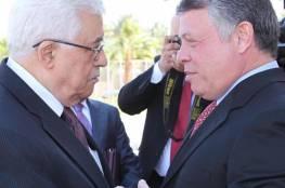 الرئيس يجتمع مع العاهل الأردني