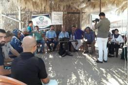 الدكتور ابو هولي يفتتح المخيم الكشفي البحري السادس في غزة