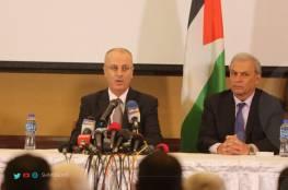 الحمد الله: على المجتمع الدولي ان يترجم بيانات الشجب والاستنكار لجرائم اسرائيل إلى إجراءات عملية حازمة
