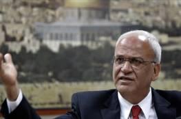 عريقات يدعو الاتحاد الأوروبي للاعتراف بدولة فلسطين وتقوية مؤسساتها وضمان إجراء الانتخابات