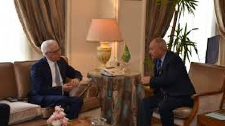 أبو الغيط يبحث مع وزير خارجية بولندا تطورات القضية الفلسطينية