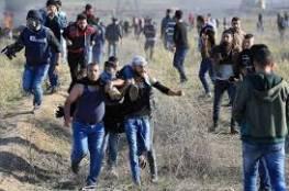 شهيد وإصابات برصاص الاحتلال والاختناق شرق قطاع غزة