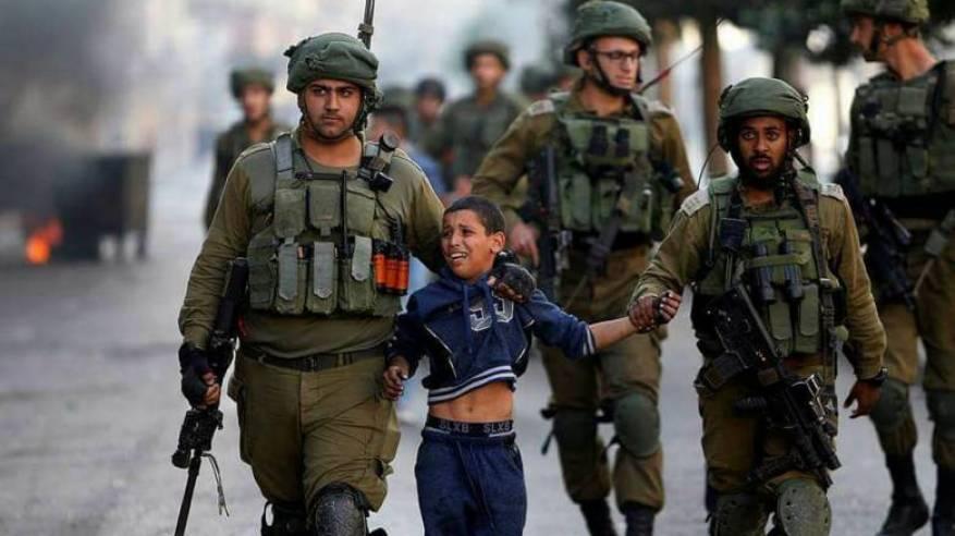 الاحتلال اعتقل أكثر من 900 طفل منذ بداية 2018