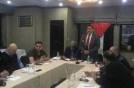 جاليتنا في قيرغيزيا تعقد مؤتمرها السنوي وتجدد البيعة للرئيس عباس