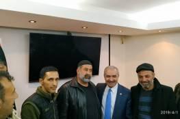 اللجان الشعبية بالمخيمات تلتقي الدكتور اشتية رئيس الوزراء المكلف