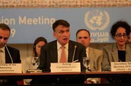 خطاب المفوض العام للأونروا بالإنابة أمام اللجنة الاستشارية