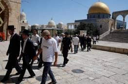 65 مستوطنا يقتحمون المسجد الأقصى بحراسات مشددة