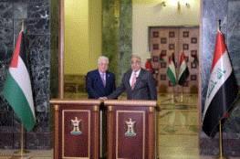 الرئيس: قبور شهداء العراق في فلسطين تشهد على مواقفه الثابتة في دعم شعبنا