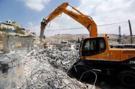 تقرير: الاحتلال هدم ودمر 538 منزلا و استولى على 3439 دونما عام 2018