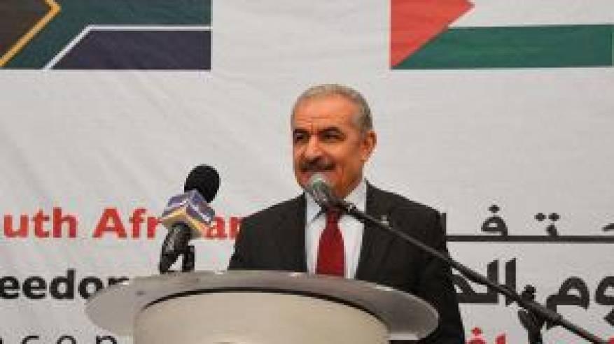 اشتية يدعو لتشكيل ائتلاف دولي للحفاظ على حل الدولتين ومواجهة الإجراءات الإسرائيلية