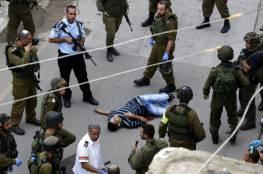 شهيد برصاص الاحتلال قرب الحرم الإبراهيمي في الخليل