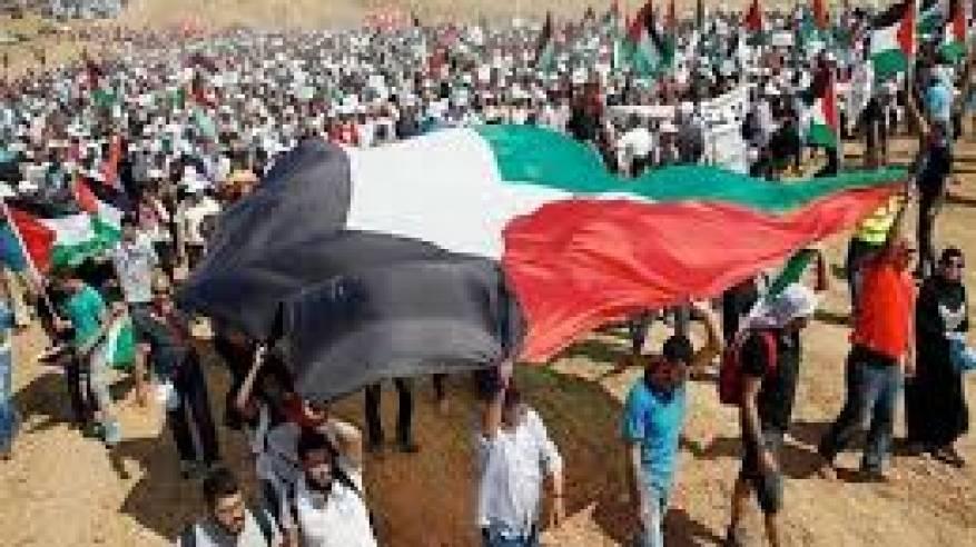 إصابات خلال قمع الاحتلال للمسيرات الأسبوعية السلمية شرق قطاع غزة