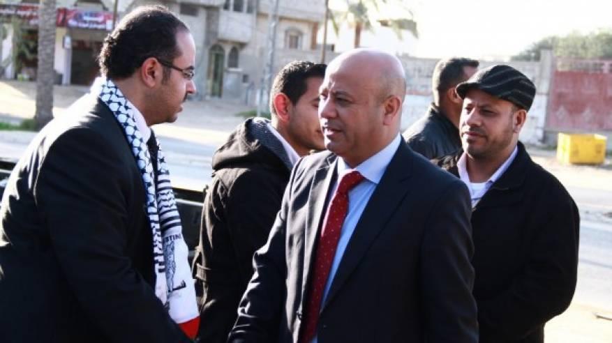 د. ابو هولي يشاطر قاضي القضاة محمود الهباش بوفاة شقيقه