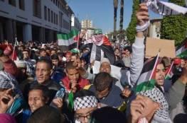 شعبنا في الوطن والشتات ينتفض لليوم الثاني رفضا للورشة الأميركية في البحرين ودعما لمواقف الرئيس