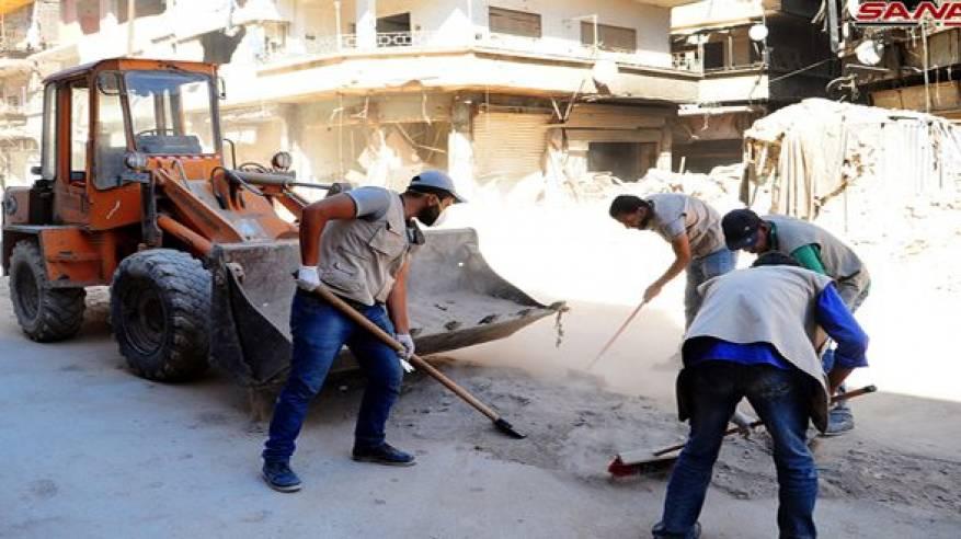 دمشق: مؤشرات ايجابية لعودة متدرجة للمواطنين الى المناطق الأقل تضررا في