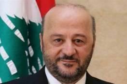 وزير الاعلام اللبناني: القضية الفلسطينية موضع تلاق عربي ودولي ونقطة ارتكاز بالاهتمام العالمي