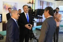 اشتية يثمن دور الإعلام الرسمي في الدفاع عن الحق الفلسطيني