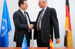ألمانيا تتبرع بمبلغ 10,1 مليون دولار للأونروا دعما للاجئي فلسطين