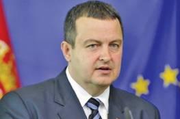 وزير خارجية صربيا خلال لقائه الأحمد: سنفتتح قريبا ممثلية لنا في رام الله