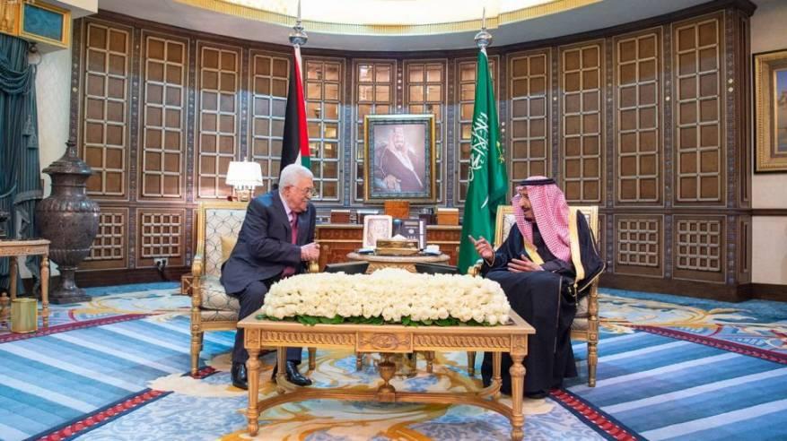 الرئيس يجتمع مع خادم الحرمين الشريفين