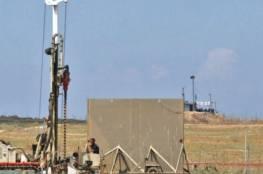 إسرائيل تشرع ببناء جدار على طول الشريط الحدودي مع قطاع غزة