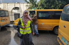 شؤون اللاجئين تنفذ مبادرة في مخيم الجلزون لمحاربة ظاهرة المركبات غير القانونية