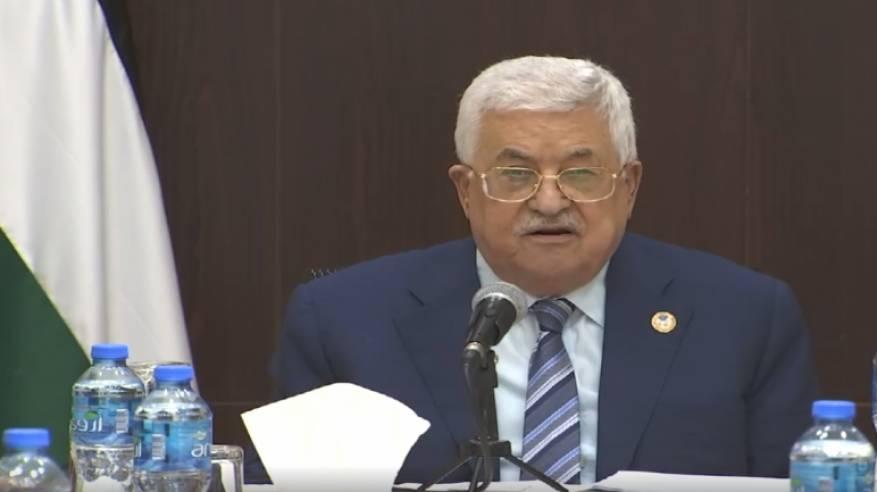 الرئيس يشكر مجموعة السلام العربي على مبادرتها للمصالحة ودعمها لمواقف القيادة في مواجهة مخطط الضم