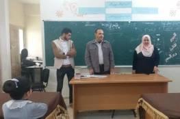 دائرة الشباب في اللجنة الشعبية بالنصيرات تنفذ سلسلة لقاءات تثقيفية حول قضية اللاجئين وحق العودة للطلائع