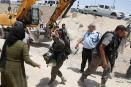 منظمة التحرير: هدم قرية الخان الأحمر جريمة حرب