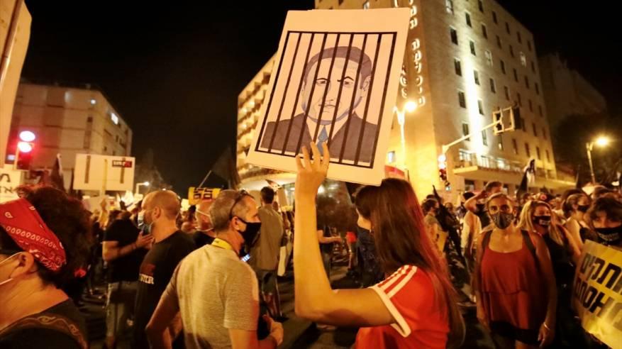 آلاف الإسرائيليين يواصلون التظاهر ضد نتنياهو للأسبوع الـ11
