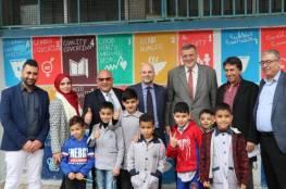 المنسّق الخاص للأمم المتحدة ومديرعام الأونروا في لبنان يزوران مخيّم عين الحلوة للاجئي فلسطين