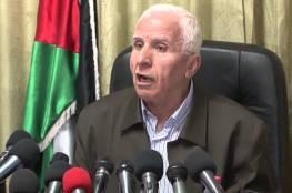 الأحمد: لن نجلس مع أي طرف لا يعترف بمنظمة التحرير ممثلا شرعيا ووحيدا للشعب الفلسطيني