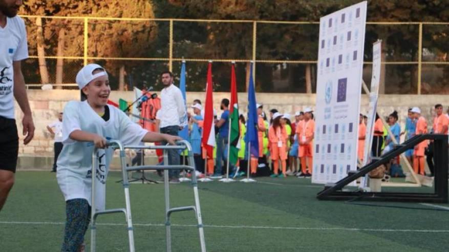 الأونروا تطلق الأولمبياد الفلسطيني في لبنان بنسخته الحادية عشرة بدعم من الاتحاد الأوروبي