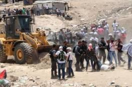 وفد برلماني أوروبي: هدم قرية الخان الأحمر يرتقي إلى جريمة حرب