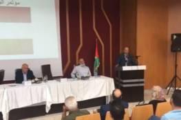 بحضور قيادات وطنية: اختتام أعمال مؤتمر الوفاق الوطني الأول في جنين