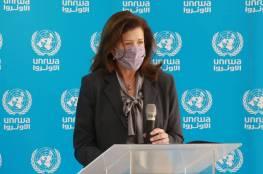 السفيرة الأمريكية في لبنان تزور الأونروا بعد إعلان بلدها استئناف التمويل للوكالة