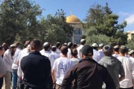 شرطة الاحتلال توصي برفع وتيرة اقتحام الأقصى من قبل أعضاء