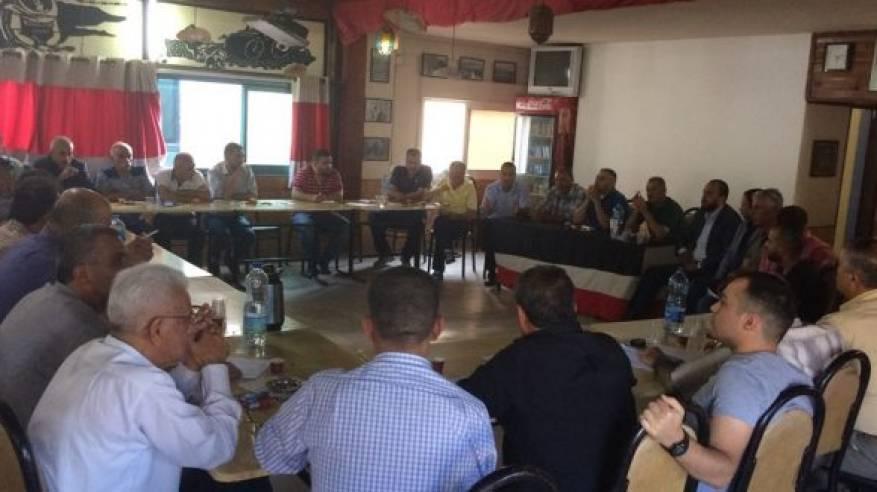 اللجان الشعبية بالضفة تطلق فعالياتها ضد تصفية حقوق اللاجئين وشطب الاونروا