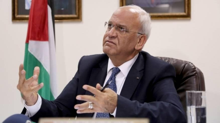 عريقات يلتقي سفراء كندا في فلسطين والأردن وإسرائيل